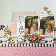 Together - designed for Crafty Maven channel using Maggie Holmes Shine collection