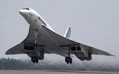 A versão definitiva do Concorde voou pela primeira vez em 31 de janeiro de 1975