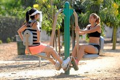 Adult Playground For Fitness Opens in Los Angeles Park