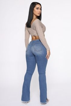 Refine And Fine Top - Taupe/combo – Fashion Nova Hot Outfits, Stylish Outfits, Fashion Outfits, Women's Fashion, Sexy Jeans Outfit, Fashion Nova Plus Size, Curvy Jeans, Beautiful Outfits, Beautiful Women