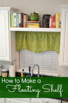 10 Aligned Tips: Floating Shelves Entryway Hooks floating shelves apartment ikea hacks.How To Make Floating Shelves Fireplaces floating shelves kitchen display. Kitchen Window, Shelves, Home Projects, Interior, Kitchen Window Shelves, Floating Shelves, Home Decor, Home Diy, Kitchen Shelves
