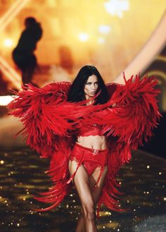 Adriana Lima Victoria's Secret Fashion Show 2013 Parisian Nights Segment