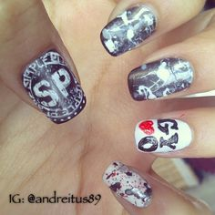 Simple Plan Nails