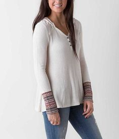 be3fd2b7f142b0 Show FRONT image Henley Top
