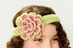 Hopeful Honey | Craft, Crochet, Create: Beautifully Blushed Headband & Rosette Crochet Pattern