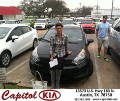 #HappyAnniversary to Wendy Swift on your 2014 #Kia #Rio from Christian Lundell at Capitol Kia!