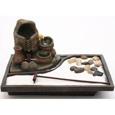 Jardin Zen Miniature, Mini Jardin Zen, Mini Zen Garden, Meditation Corner, Meditation Room Decor, Pink Clouds Wallpaper, Indoor Water Fountains, Zen Room, Ryoanji