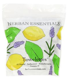 Herban Essentials Towelettes | Behold: The unsung heroes of the beauty world. Try them now and hoard them forever.