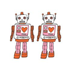 we love these Tattly robots an insane amount.
