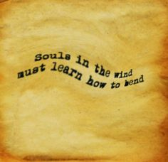 """""""Souls in the wind must learn how to bend.""""  Diana Ross - If We Hold On (OST. Land Before Time)   #life #quote #words #wise"""