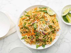 Turkey Pad Thai : Skip takeout in favor of Melissa's easy pad thai, a great and mild introduction to Thai flavors.