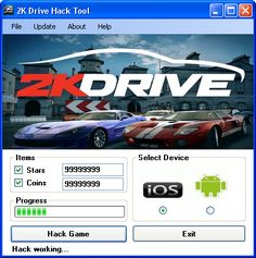 2K Drive Hack Tool Download  Today we introduce to you the 100% working 2K Drive Hack Tool which add unlimited Stars and Coins to your devices application in just one second. All you need to do is just to login and press activate hack. We guarantee you that you will be the best 2K Drive player after use this amazing tool.