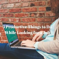 5 Productive Things to Do While Looking for a Job - Playground of Randomness Productive Things To Do, First Job, Criminology, Looking For A Job, Learn A New Skill, Microsoft Excel, When You Can, Career Advice, Lessons Learned
