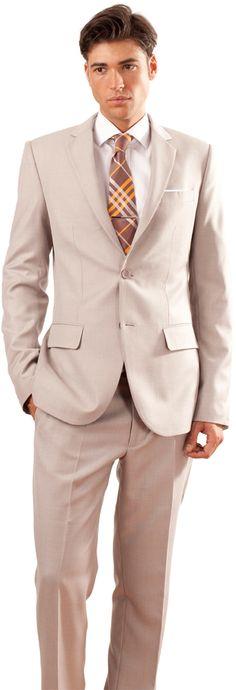 Suit beige. www.blackpier.com