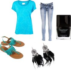 Turquoise, created by begirl2799 on Polyvore