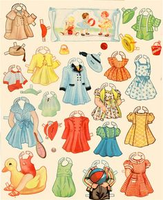 Paper Dolls~Old Woman In The Shoe - Bonnie Jones - Picasa Web Albums* 1500 free paper dolls at Arielle Gabriel's International Paper Doll Society for other paper doll Pinterest pals...*