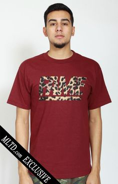 Fame Block Leopard T-Shirt by Hall of Fame at MOOSE Limited