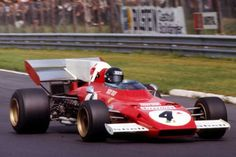 Jacky Ickx, Ferrari (finished German GP, held at Nürburgring on July Ferrari Scuderia, Ferrari F1, Jacky, Formula 1 Car, F1 Racing, Indy Cars, Car And Driver, Car Humor, Race Cars
