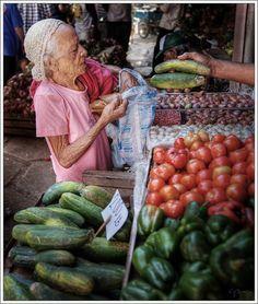 At the market - Santiago de Cuba