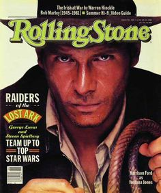 Rolling Stone Cover of Harrison Ford