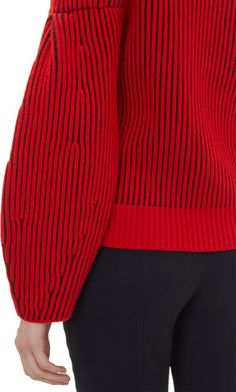 Givenchy - Two-tone Pullover Sweater - #wearables