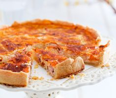 Pålitlig ost och skinkpaj som passar vid alla tillfällen. Lunch, middag, matsäck och bjudning. Variera med kokt eller rökt skinka och olika smakstarka ostar. Sallad som tillbehör kan varieras efter tycke och smak.
