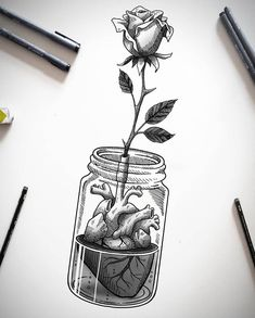 Videos black and white illustration, black and white sketches, sk Dark Art Drawings, Pencil Art Drawings, Art Drawings Sketches, Tattoo Sketches, Cute Drawings, Tattoo Drawings, Drawing Drawing, Illustration Tattoo, Anatomy Art