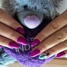 #nailsfreak #nailsoftheday #stylizacjapaznokci #manicure #bielskobiala #nailssart #nailssalon #naildesign #nailsmania #polishgirl #polishnail #indigo #bombastic #blureffect #indigonails