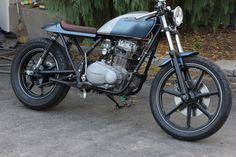 1971 Kawasaki KZ400 Cafe Style