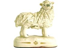 Antique Staffordshire Sheep II