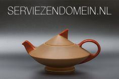 One of the highlights of Dutch design is the tea set 'Thea'. Edmond Bellefroid created it in 1933 for The Sphinx in Maastricht. See more pictures: http://www.serviezendomein.nl/Hoogtepunten-2.html and if you read dutch there is also a lot of info to enjoy.