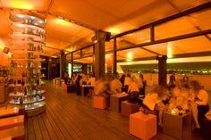 Best Terrace Bars in Madrid. The SkyNight Terrace Puerta America Hotel