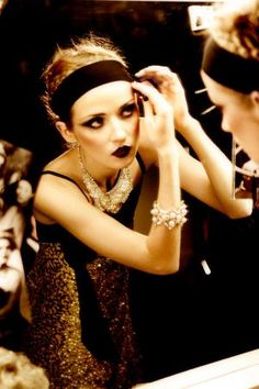 Charleston   Vanity Fair Italy Makeup for the roaring 20's