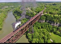 RailPictures.Net Photo: TVRM 630 Southern Railway Steam 2-8-0 at High Bridge, Kentucky by Chris Starnes
