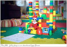 Elf on the Shelf - lego house