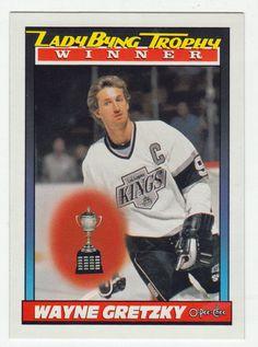 Wayne Gretzky # 520 - 1991-92 O-Pee-Chee Hockey Hockey Cards, Baseball Cards, Ice Hockey Players, Wayne Gretzky, National Hockey League, Nhl, Mint, Peppermint