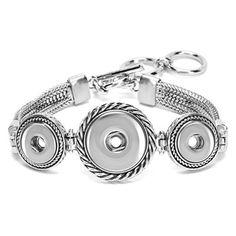 Ginger Snaps 3-Snap Combo Bracelet