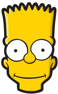 This PNG image was uploaded on December am by user: yamzy and is about Bart Simpson, Character, Computer Icons, Desktop Wallpaper, Emoticon. Homer Simpson, Printable Halloween Masks, Printable Masks, Free Printables, Halloween Ideas, Printable Paper, Simpsons Tattoo, Simpsons Drawings, Mooncake