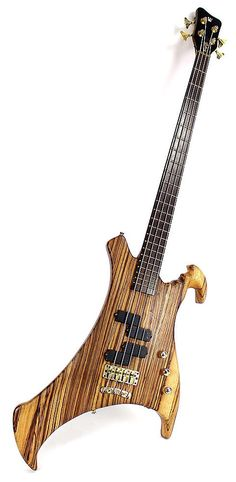 2004 WARWICK John Entwistle Buzzard Electric Bass Guitar Natural Finish   Reverb