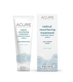 "ACURE Organics, Radical Resurfacing Lotion, fl oz: We all have them. Don't let Father Time get the upper hand! ""Even"" things out with Mother Nature's blend of brightening butterfly bush extract + Poet's daffodil extract. Diy Skin Care, Skin Care Tips, Chemical Skin Peel, Skin Peeling On Face, Smoothie, Acure Organics, What Is Stem, Lab, Skin Serum"