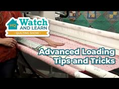 Longarm Quilting, Machine Quilting, Handi Quilter, Quilting Tutorials, Frames, Quilts, Education, Watch, Learning