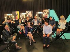 Most of our season 2 designers on set. #FashionStar
