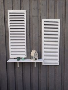 Shutters on the wall