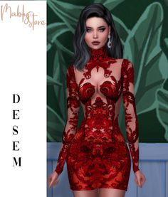 Sims 4 Mods Clothes, Sims 4 Clothing, Sims Mods, Sims 4 Dresses, Gala Dresses, Sims 4 Cas, Sims Cc, Party Fashion, Fashion Outfits
