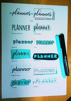 Best 12 Easy Bullet Journal Ideas To Well Organize & Accelerate Your Ambitious Goals Bullet Journal School, Bullet Journal Headers, Bullet Journal Banner, Bullet Journal Writing, Bullet Journal Aesthetic, Bullet Journal Ideas Pages, Bullet Journal Inspiration, Bullet Journal Goals, Bullet Journal Ideas Handwriting