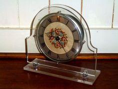 Vintage Petit Point Clock