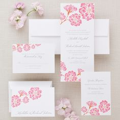 Moss Roses Wedding Invitation | #exclusivelyweddings