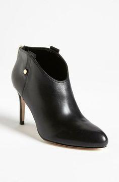 Black Bootie Heels.