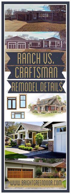 craftsman details ranch details home design remodel
