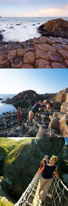 'Giant's Causeway Day Tour From #Belfast'. The #GiantsCauseway and #Antrim Coast coach trip is Belfast's flagship daily tour to one of Ireland's most amazing places. It also includes visits to Carrickfergus Castle, the Carrick-a-Rede Rope Bridge, Bushmills Whiskey Distillery and Dunluce Castle.